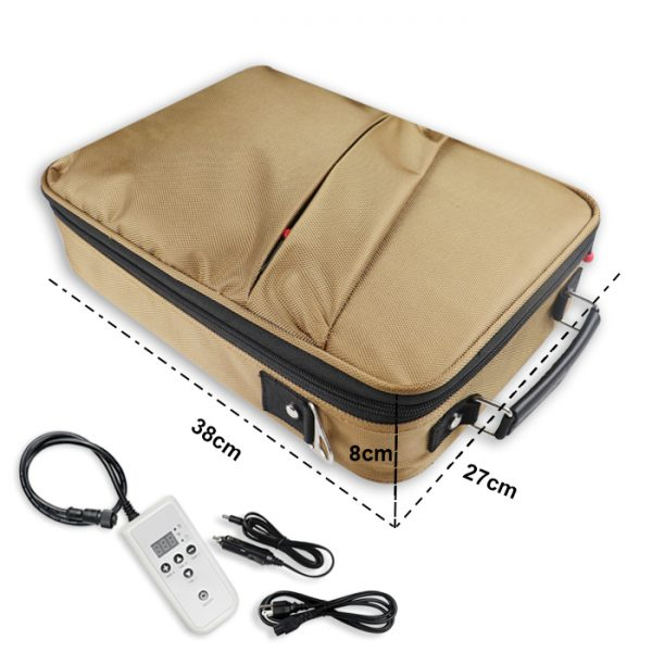 H200 Stone Heating bag Size