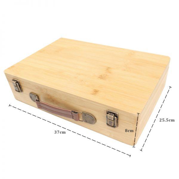 H410 Bamboo heating box size